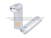 LED flash light with logo