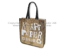 Recycled kraft paper bag