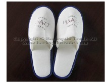 Hotel slipper with logo