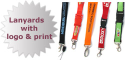 Lanyards with logo and print