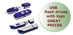 USB Flash drives with logo